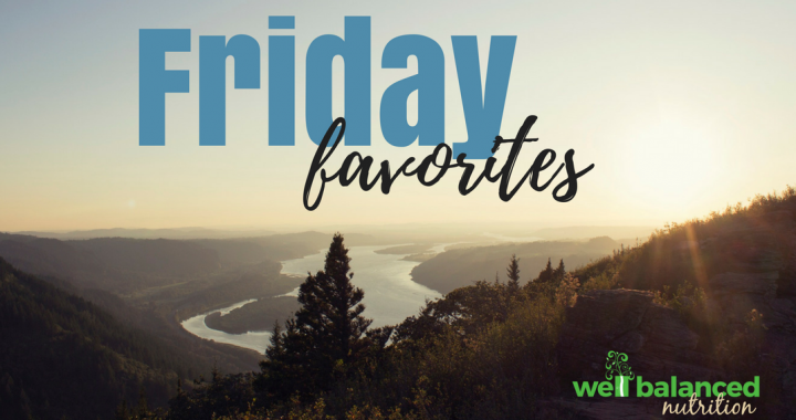 Kristen's Friday Favorites