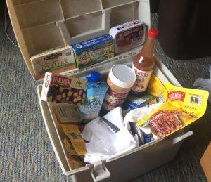 Create your own yummy healthy treasure box