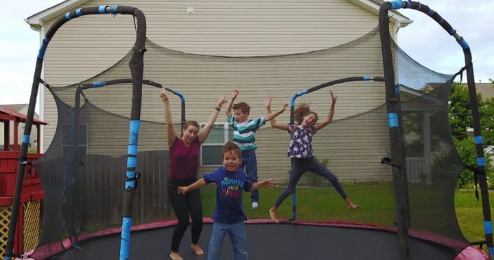 Why this mom is jumping for joy