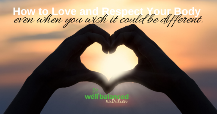 5 Ways to Love and Respect Your Body